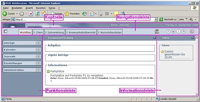 ZEUS WebServices